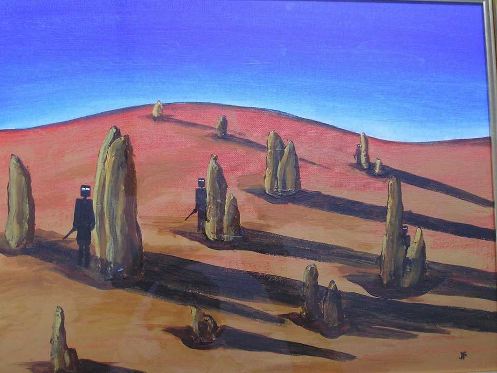 Dreamtime in the Pinnacle Desert
